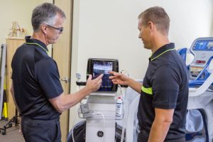 Dr C and Dr. Jon review sports ultrasound